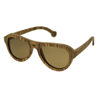 Spectrum Wood Marzo Sunglasses